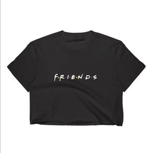 Ladies FRIENDS crop top thsirt